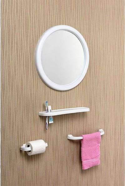 Çelik Ayna CLK102 Mega Yuvarlak Ayna Seti