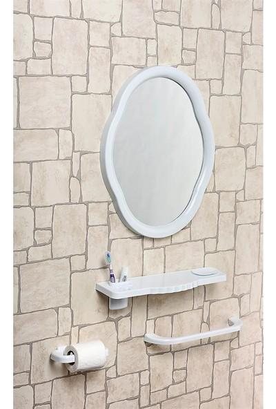 Çelik Ayna CLK103 Mega Oval Ayna Seti