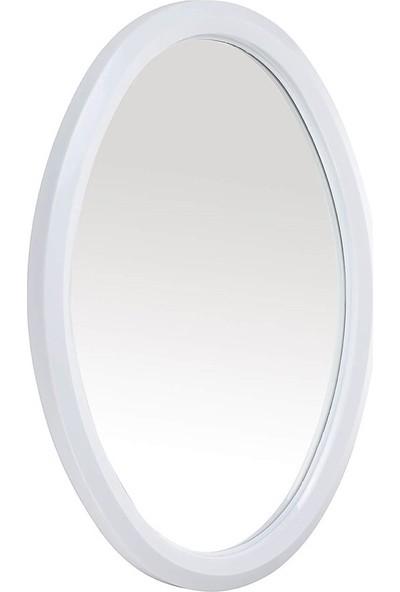 Çelik Ayna CLK171 Küçük Oval Ayna