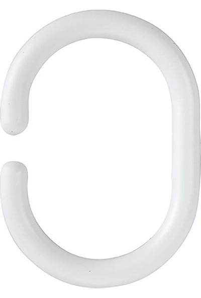Çelik Ayna CLK730 Perde Halkası 24 Adet