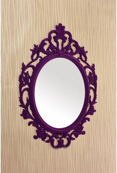 Çelik Ayna CLK880 Dekoratif Ayna Kadife