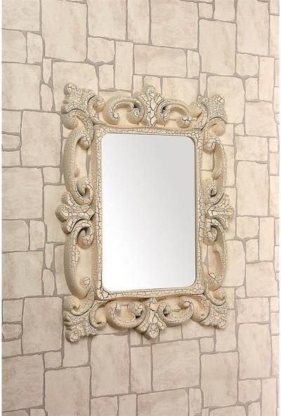 Çelik Ayna CLK884 Dekoratif Kare Ayna Desenli