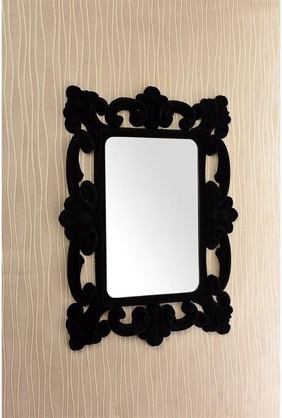 Çelik Ayna CLK895 Dekoratif Kare Ayna Kadife