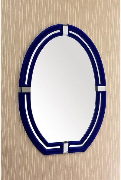 Çelik Ayna CLK898 Dekoratif Milenyum Kadife Ayna