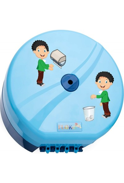 Flokids F332 Mini Pinti Wc Kağıt Dispenseri Mavi