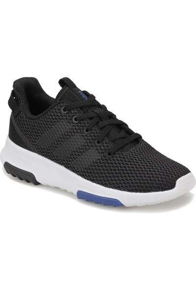 Adidas Cf Racer Tr Siyah Beyaz Unisex Çocuk Koşu Ayakkabısı