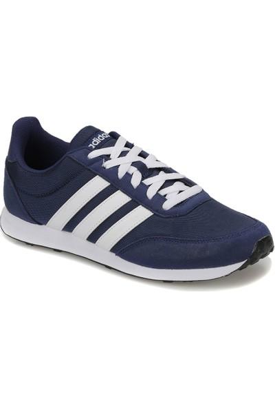 Adidas V Racer 2.0 Gri Beyaz Erkek Koşu Ayakkabısı