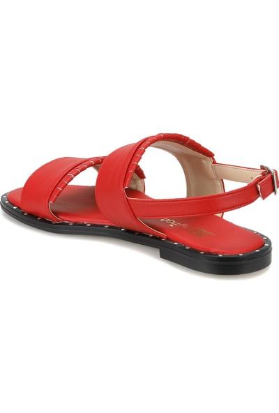 Butigo Keo33Z Kırmızı Kadın Sandalet