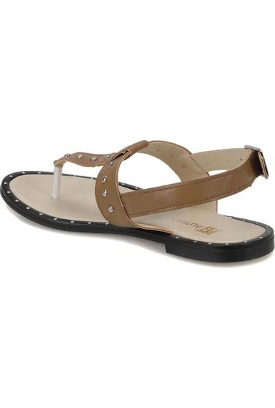 Butigo Zerda07Z Bej Kadın Sandalet
