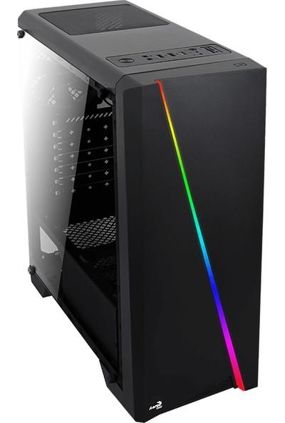 Aerocool Cylon 750W 80+Bronze RGB Akrilik Panel USB 3.0 Siyah ATX Kasa (AE-CYLN-750)