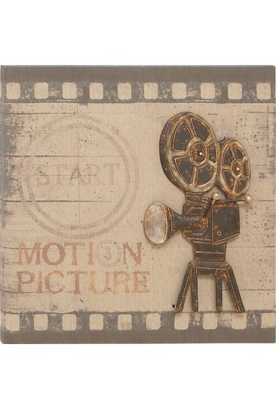 Cepmedya Nostalji Kamera Kanvas Tablo