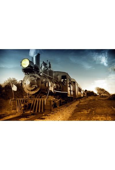 Cepmedya Tren Temalı 50X70 Kanvas Tablo