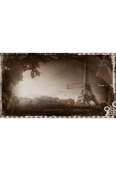 Cepmedya Nostalji Eiffel Temalı 50X70 Kanvas Tablo