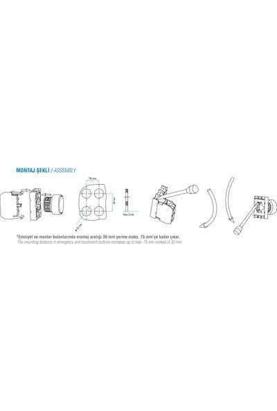 Emas Buton Yedek Start Kontağı B1 Tip
