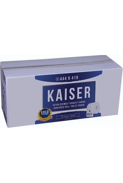 Kaiser Gold İçten Çekme Tuvalet Kağıdı 6 Rulo x 200 m