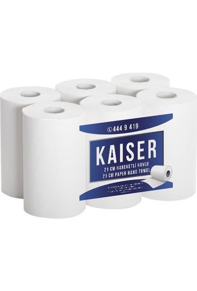 Kaiser 21 cm Hareketli Havlu 6 Rulo