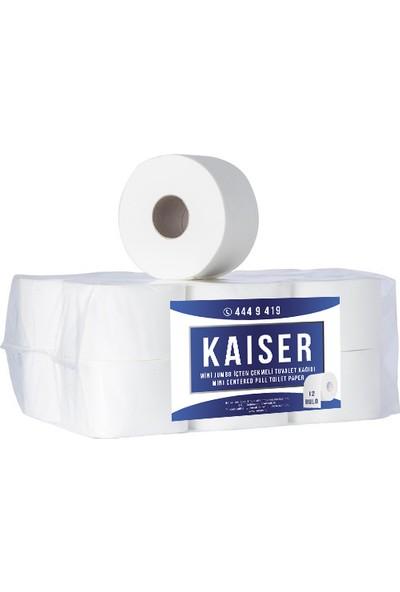 Kaiser Mini Jumbo İçten Çekmeli Tuvalet Kağıdı 12 Rulo