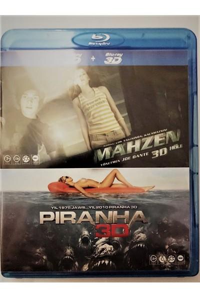 Mahzen(The Hole) 3D & Piranha 3D Blu-Ray 2 Dısc