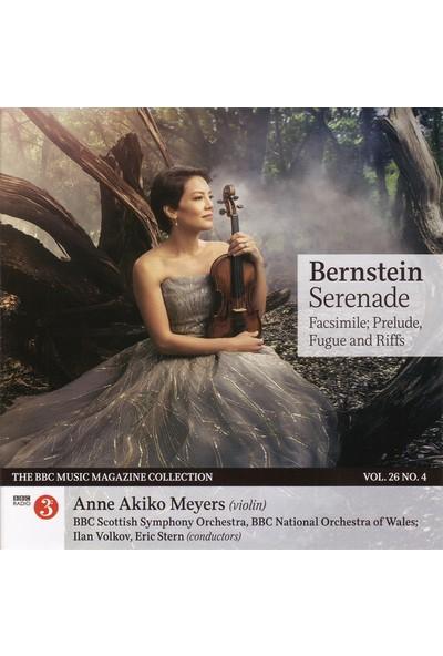 Anne Akiko Meyers - Bernstein Serenade, Facsimile, Prelude, Fugue And Riffs Cd