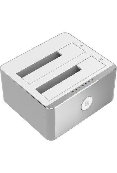 """Unitek Y-3027 USB3.1 to SATA6G 2.5""""/3.5"""" Hard Disk Kopyalayıcısı"""