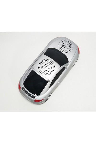 50bir A8 Araba Hoparlör Speaker - Gri