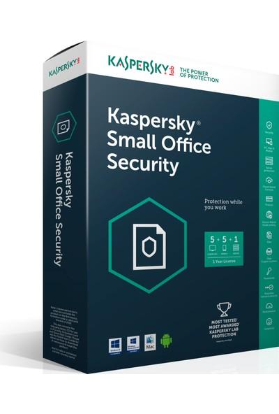 Kaspersky Small Office Security 5 1 Server + 10 PC + 10 Mobil 1 Yıl