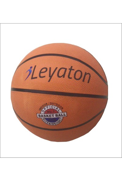Leyaton Basketbol Topu Kauçuk Size 7
