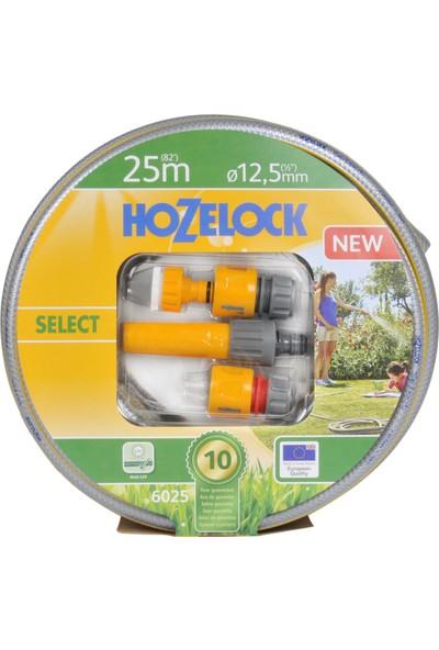 """Hozelock 6025P9000 25 MT Başlangıç Setli 1/2"""" Select Hortum"""