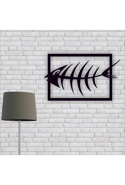 Artmoon Design Balık Metal Tablo Duvar Dekor