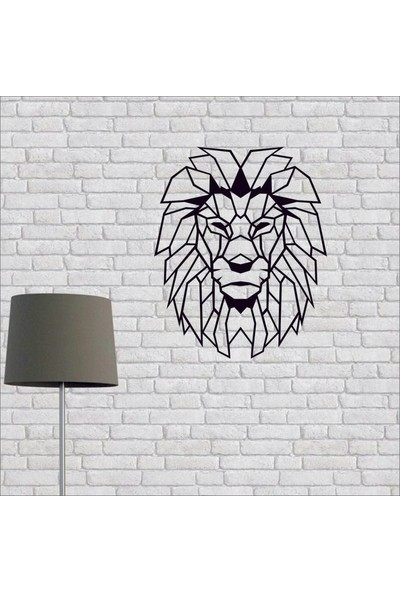 Artmoon Design Aslan Metal Tablo Duvar Dekor