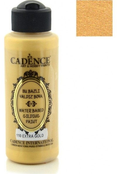 Cadence Extra Altın Akrilik Ahşap Yaldız Boya 120 ML