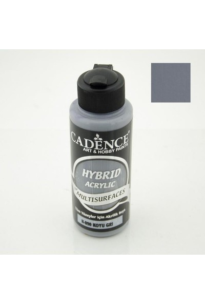 Cadence H090 Koyu Gri (Hibrit) Multisurface Boya 120 ML