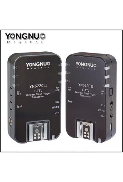 Yongnuo YN 622 C II Canon Uyumlu Hss ve Ttl Flaş Tetikleyici