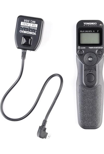 Yongnuo MC36R N3 Nikon Uyumlu Kablosuz Time Lapse Kumanda