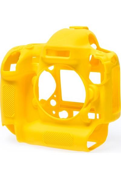 EasyCover Nikon D4/D4s Silikon Kılıf ECND4SY (Sarı)