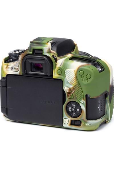 EasyCover Canon 760D Silikon Kılıf ECC760DC (Kamuflaj)