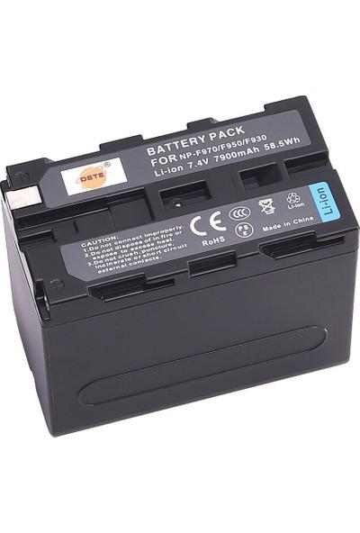Sony NP F970 Kamera ve Led Batarya (7200mAh)