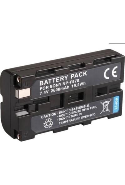 Sony NP F570 Kamera ve Led Batarya (2350 mAh)