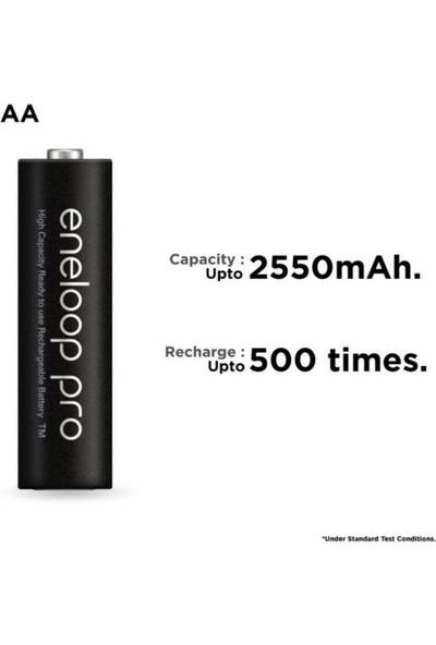 Panasonic Eneloop Pro 2550 mAh Şarjlı Pil