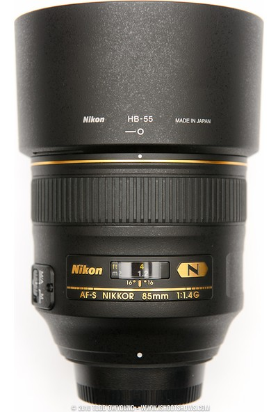 Nikon HB 55 Lens Hood Parasoley 85mm F1 4 G Uyumlu (Orjinal)