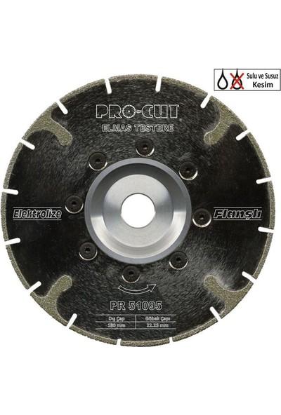 ProCut 51095 ECF (Elektrolize Flanşlı) Serisi Elmas Testere 180 mm