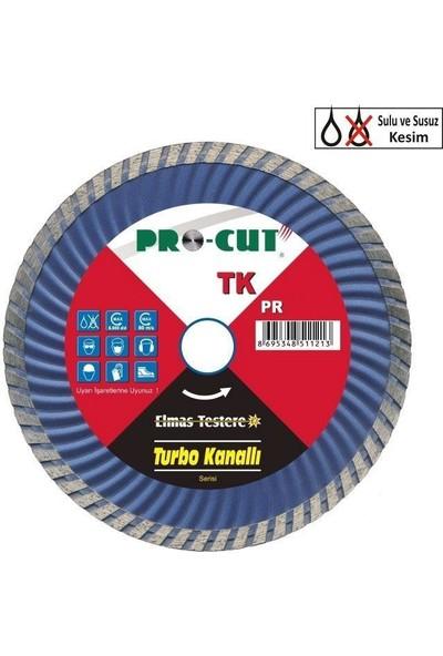 ProCut 54117 HTK (Turbo Kanallı) Serisi Sıcak Hadde Elmas Testere 115 mm