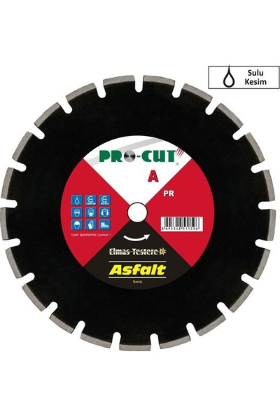 ProCut 51157 A (asfalt) serisi Elmas Testere 350mm