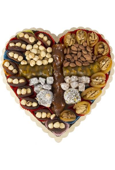 Kayısı Gönder Kalpli Kayısı Paketi 1 kg
