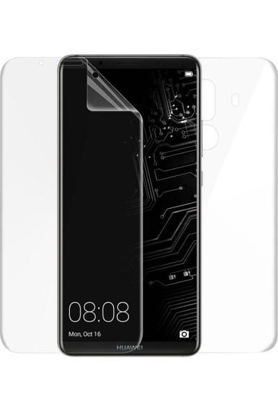 Case 4U Huawei Mate 10 Pro 360 Derece Ön - Arka Tam Ekran Kaplayıcı Film - Kavisler Dahil