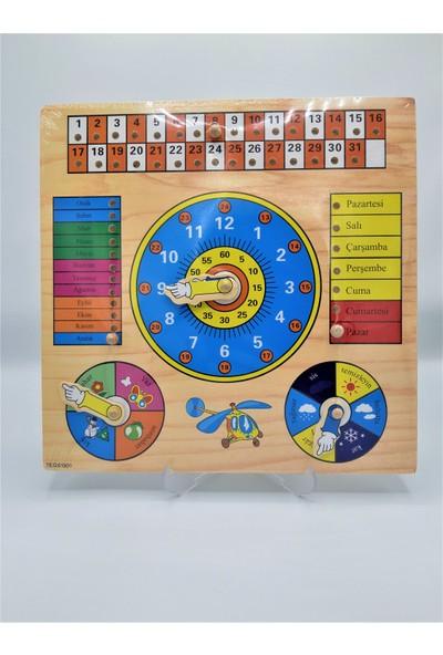 Rasyonel Ahşap Puzzle Hafta Ve Aylar N-20
