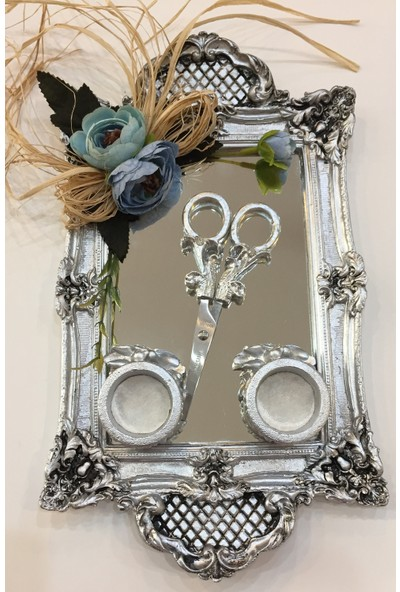 Atelier Es Söz & Nişan Tepsisi Gümüş Eskitme
