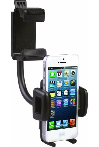 CoverZone Araç İçi 360° Dikiz Aynası Telefon Tutucu Spiralli C47