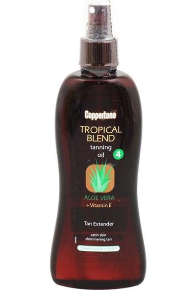 Coppertone Aloe Vera ve E Vitaminli Güneş Yağı 200 ml