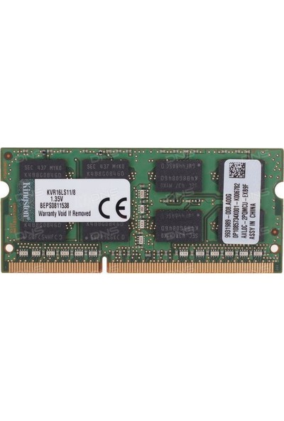 Kingston ValueRam 8GB 1600MHz DDR3 Notebook Ram (KVR16LS11/8)